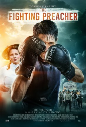 The Fighting Preacher (2019) Постер