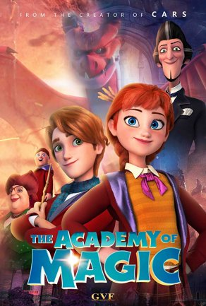 The Academy of Magic (2020) Постер
